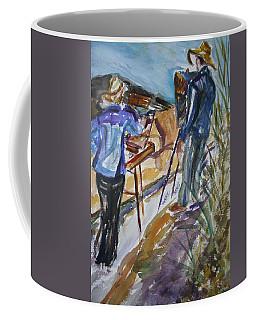 Plein Air Painters - Original Watercolor Coffee Mug