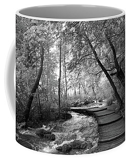 Plitvice In Black And White Coffee Mug