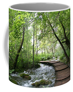 Coffee Mug featuring the photograph Plitvice Lakes National Park by Travel Pics
