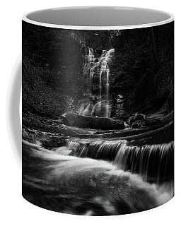 Coffee Mug featuring the photograph Plotter Kill Falls by Brad Wenskoski