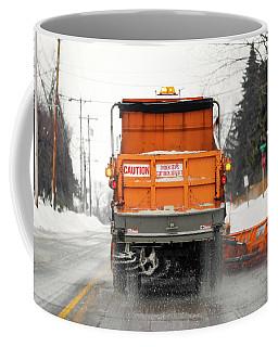Plowing Snow Coffee Mug