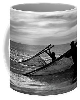 Plowing The Sea - Thailand Coffee Mug