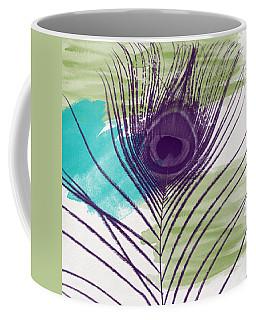 Plumage 2-art By Linda Woods Coffee Mug