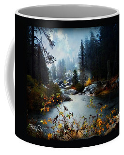 Coffee Mug featuring the photograph Plumas River  by Bobbee Rickard