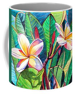 Plumeria Garden Coffee Mug