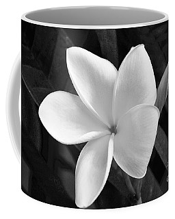 Plumeria In Monochrome Coffee Mug