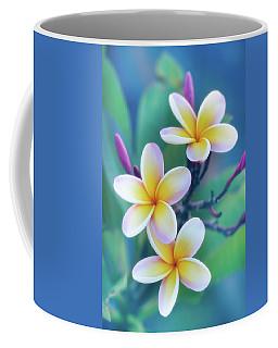 Plumerias In Pastel Coffee Mug