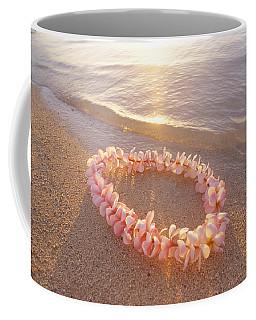 Plumeria Lei Shoreline Coffee Mug
