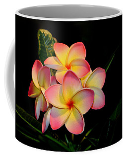 Plumeria Coffee Mug by Living Color Photography Lorraine Lynch