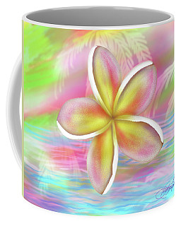 Plumeria Paradise Coffee Mug by Dani Abbott
