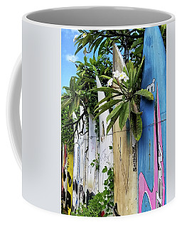 Plumeria Surf Boards Coffee Mug