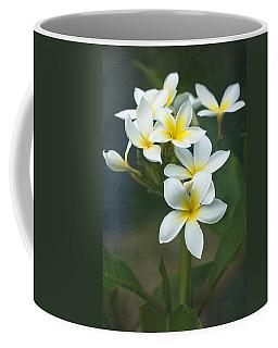 Plumerias On A Cloudy Day Coffee Mug