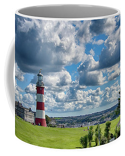 Plymouth Hoe And Smeatons Tower Coffee Mug