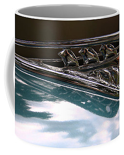 Art Deco Plymouth Hood Ornament Coffee Mug by Yvonne Wright
