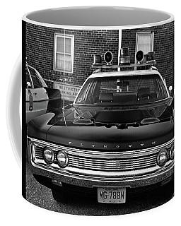 Plymouth Police Car Coffee Mug by Paul Seymour