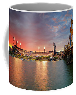 Pnc Park At Sunset Coffee Mug