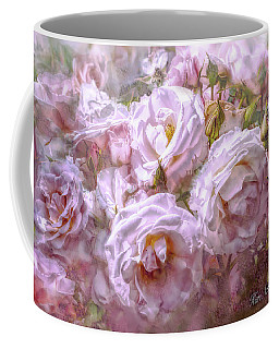 Pocket Full Of Roses Coffee Mug by Kari Nanstad