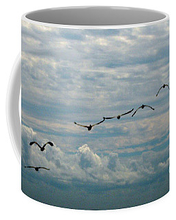 Pod Of Pelicans Coffee Mug