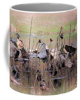 Pods At Sunset Coffee Mug by Mary Lou Chmura