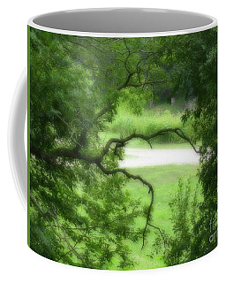 Coffee Mug featuring the photograph Reaching Out by Rosanne Licciardi