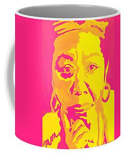 Poetically Speaking  Coffee Mug by Miriam Moran