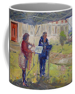 Poetry And Violin Coffee Mug