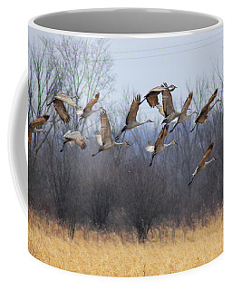 Coffee Mug featuring the photograph Poetry In Motion by Viviana  Nadowski