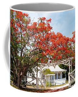 Poinciana Cottage Coffee Mug by Amar Sheow