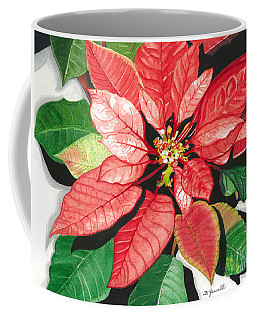 Poinsettia, Star Of Bethlehem Coffee Mug