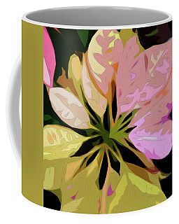 Poinsettia Tile Coffee Mug
