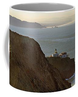 Point Bonita Lighthouse In San Francisco Coffee Mug