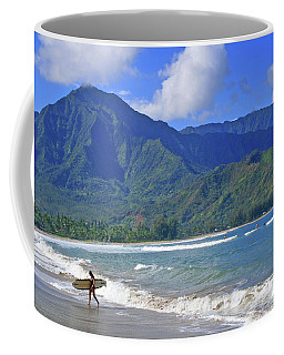 Point Break Coffee Mug by Scott Mahon