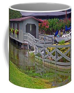 Point Clear Bridge At Grand Hotel Coffee Mug