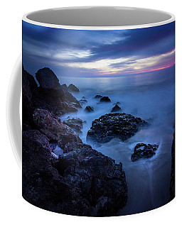 Point Dume Rock Formations Coffee Mug