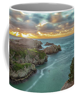 Point Lobos At Sunset Coffee Mug