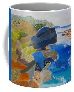 Cliffs Of Point Lobos Ca Coffee Mug