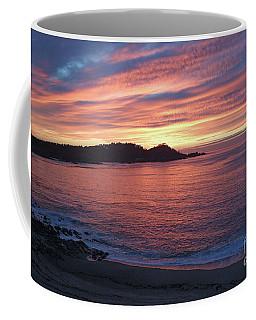 Point Lobos Red Sunset Coffee Mug