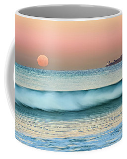 Point Loma Moonset Coffee Mug