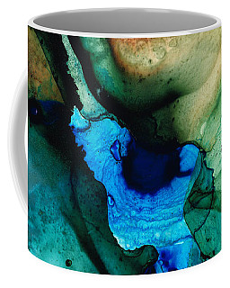 Point Of Power - Abstract Painting By Sharon Cummings Coffee Mug