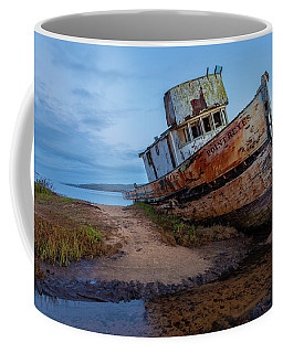 Coffee Mug featuring the photograph Point Reyes At Dawn by Jonathan Nguyen