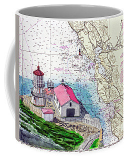 Point Reyes Light Station Coffee Mug by Mike Robles