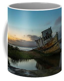 Point Reyes Shipwreck Sunset Coffee Mug