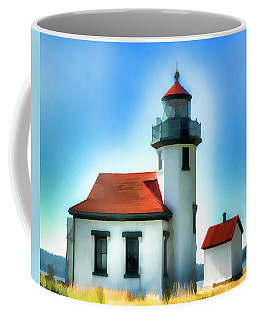 Point Robinson Lighthouse Coffee Mug by Greg Sigrist