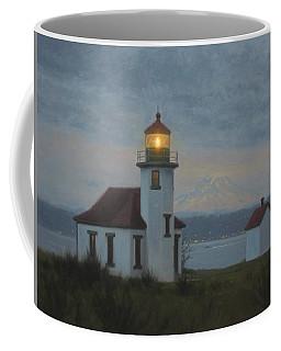 Point Robinson Winter Evening Coffee Mug