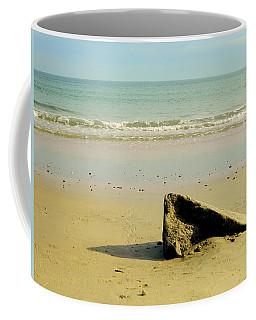 Pointed Rock At Squibby Coffee Mug