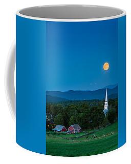 Pointing At The Moon Coffee Mug