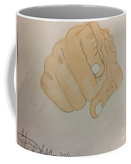 Pointing Finger Coffee Mug