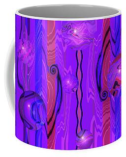 Points Of Light - Abstract Coffee Mug by Brooks Garten Hauschild