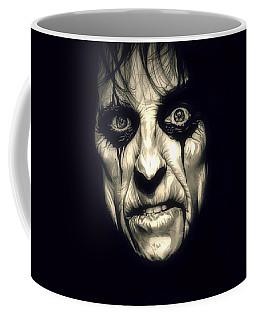 Poison Alice Cooper Coffee Mug by Fred Larucci