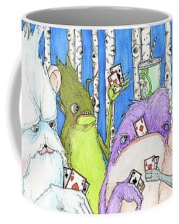 Poker Faces Coffee Mug